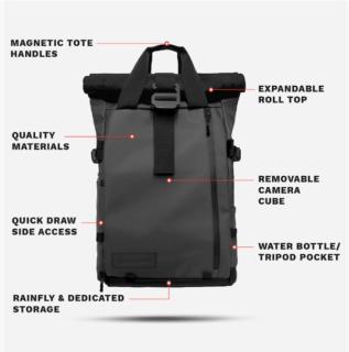 цифровой рюкзак pix с led экраном WANDRD PRVKE